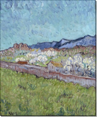 У подножия гор, 1889 - Гог, Винсент ван
