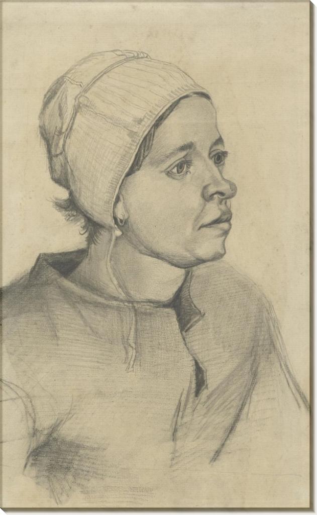 Голова женщины (Head of a Woman), 1885 - Гог, Винсент ван