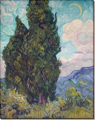 Кипарисы (Cypresses), 1889 - Гог, Винсент ван