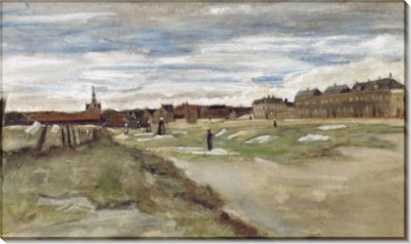 Отбеливание земли в Схевенингене (Bleaching Ground), 1882 - Гог, Винсент ван