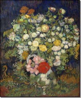 Ваза с цветами (Vase with Flowers), 1890 - Гог, Винсент ван