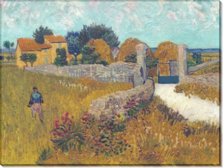 Ферма в Провансе (Farmhouse in Provence), 1888 - Гог, Винсент ван