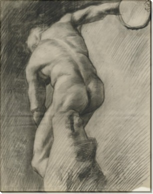 Дискобол (The Discus Thrower), 1886 - Гог, Винсент ван