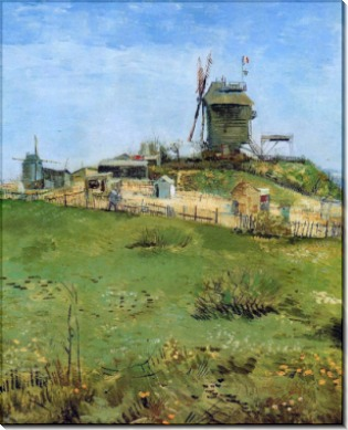 Ветряная мельница (Le Moulin de la Gallette), 1887 - Гог, Винсент ван