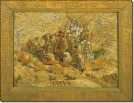 Айва, лимоны, груши и виноград (Quinces, Lemons, Pears and Grapes), 1887-88 - Гог, Винсент ван