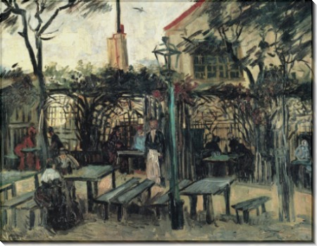 Терраса кафе на Монтмартре (Terrace of a Cafe on Montmartre), 1886 - Гог, Винсент ван