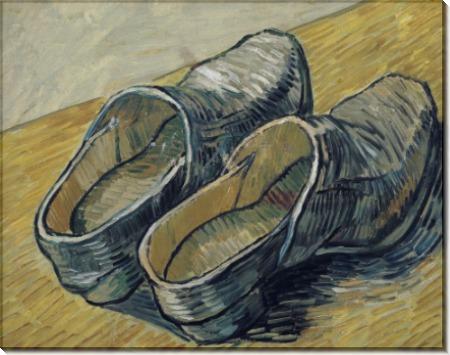 Пара кожаных туфель (A Pair of Leather Clogs), 1888 - Гог, Винсент ван