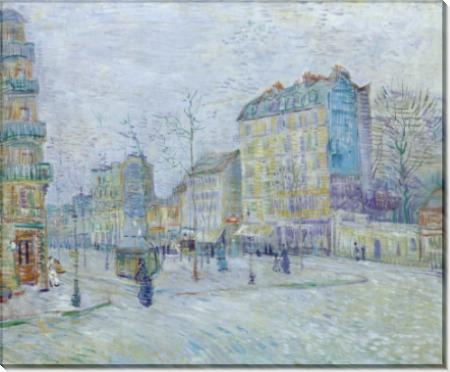 Бульвар Клиши (Boulevard de Clichy, 1887 - Гог, Винсент ван