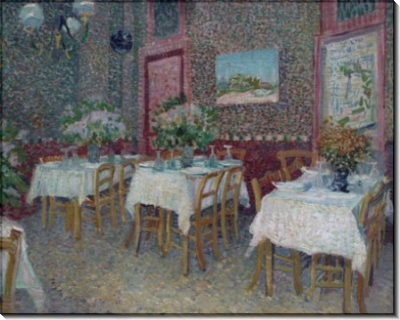 Интерьер ресторана (Interior of a Restaurant), 1887 - Гог, Винсент ван