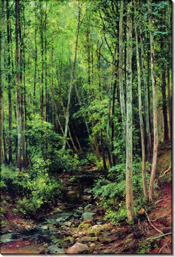 Лес-осинник, 1886 - Шишкин, Иван Иванович
