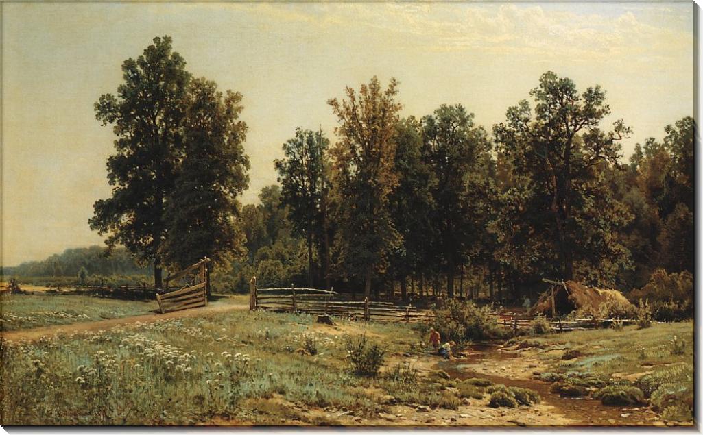На окраине дубового леса, 1882 - Шишкин, Иван Иванович