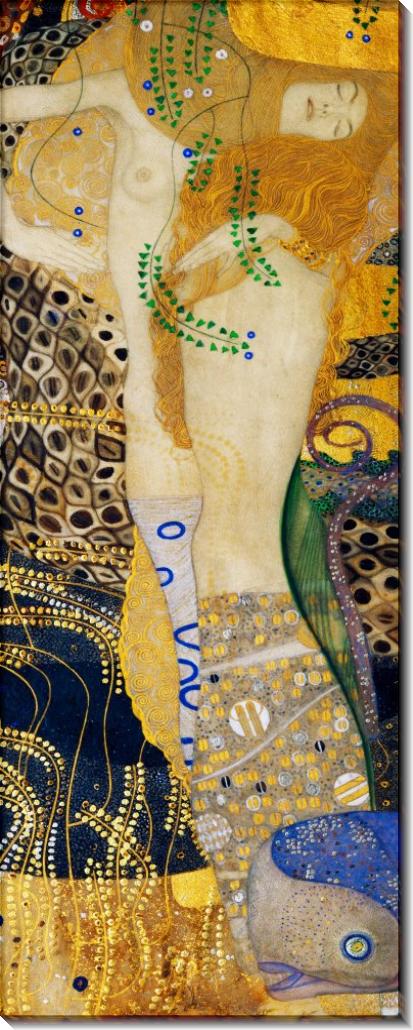 Водяные змеи - Климт, Густав