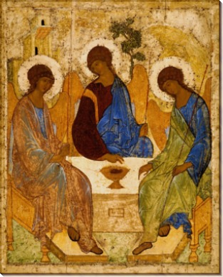 Святая Троица - Рублев, Андрей