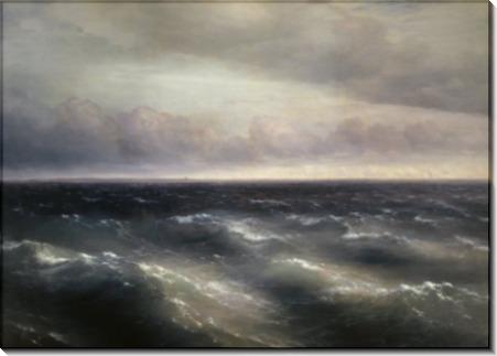 Черное море (на Черном море начинает разыгрываться буря) - Айвазовский, Иван Константинович