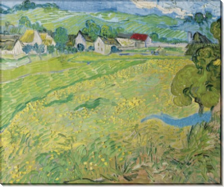 Вид на Вессенот близ Овера - Гог, Винсент ван