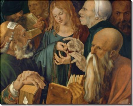 Иисус среди книжников - Дюрер, Альбрехт