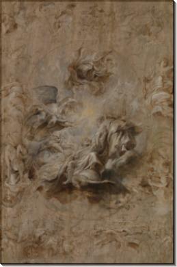 Эскиз для фрески в банкетном зале -  Рубенс, Питер Пауль