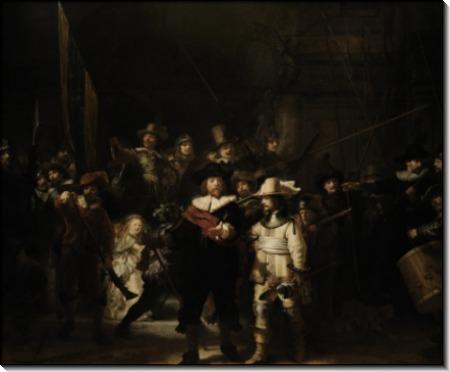 Ночной дозор - Рембрандт, Харменс ван Рейн
