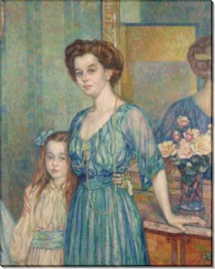 Мадам Боденхаузен с ребенком, 1910 - Рейссельберге, Тео ван