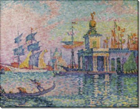 Венеция, здание таможни, 1908 - Синьяк, Поль