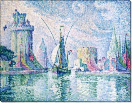Зеленая башня, Ла-Рошель, 1913 - Синьяк, Поль