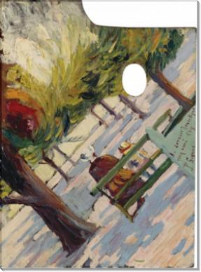 Палитра. Общественный сад, 1882-83 - Синьяк, Поль