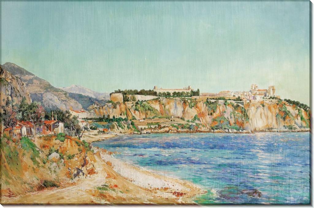 Пейзаж в Монако, 1895 - Синьяк, Поль
