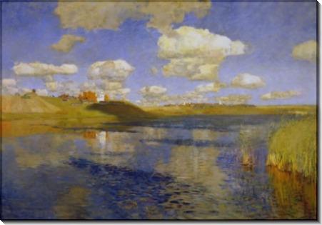 Озеро - Левитан, Исаак Ильич