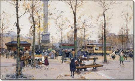 Площадь Бастилии, Париж - Гальен-Лалу, Эжен
