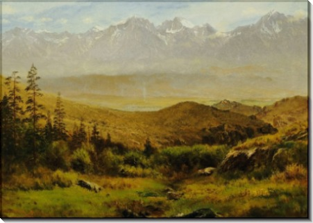 У подножья гор - Бирштадт, Альберт