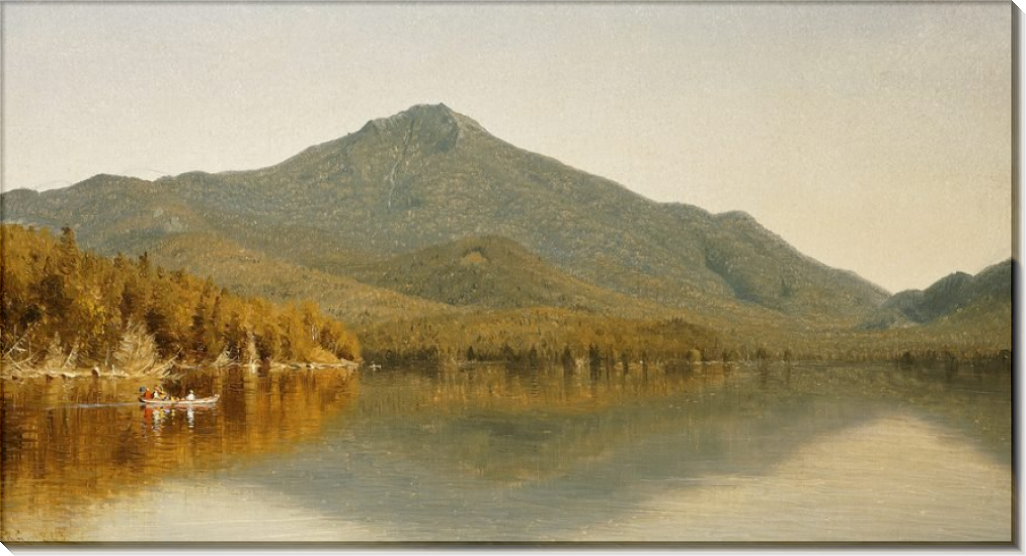 Вид на гору Уайтфас со стороны Лейк-Плэсид - Бирштадт, Альберт