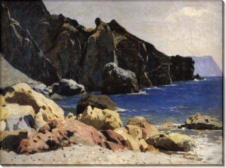 Берег моря (Крым). 1886 - Левитан, Исаак Ильич