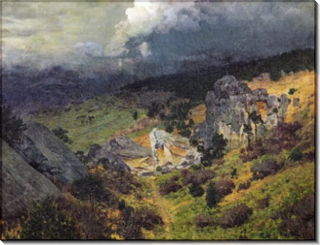 Крымские горы. 1886 - Левитан, Исаак Ильич