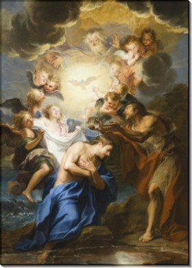 Крещение Христа - Куапель, Антуан