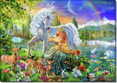 Принцесса и единорог - Честермэн, Адриан