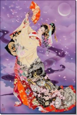 Вечерний танец гейши
