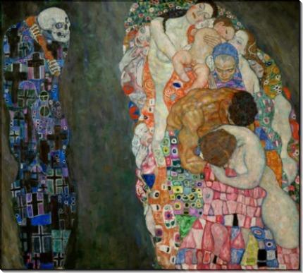 Смерть и Жизнь - Климт, Густав