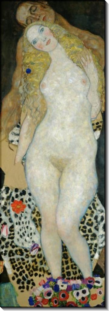 Адам и Ева - Климт, Густав