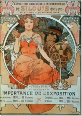 Интернациональная выставка в Сен-Луи - Муха, Альфонс