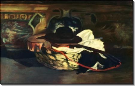 Шляпа и гитара - Мане, Эдуард