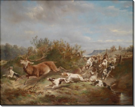 Охота на оленя - Райкерт, Карл