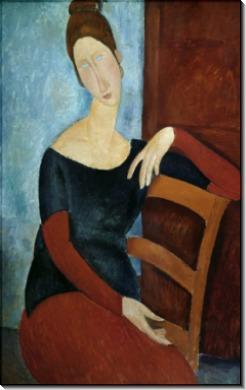 Жена художника - Модильяни, Амадео