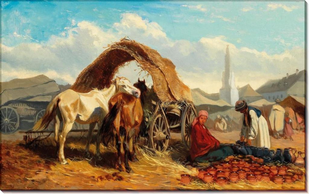 Базарный день - Бенса, Александер фон