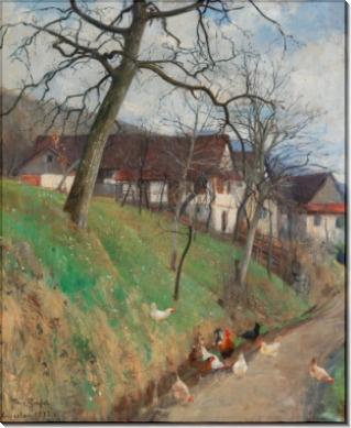 Ранняя весна в Блумберге - Грессель, Франц