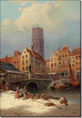 Канал в Роттердаме - Кауфман, Карл