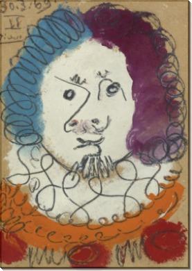 Голова мужчины - Пикассо, Пабло
