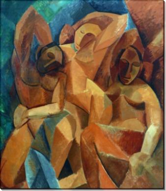 Три женщины - Пикассо, Пабло