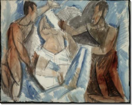 Жертвоприношение (этюд) - Пикассо, Пабло