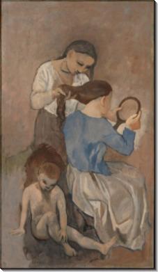 Причесывание - Пикассо, Пабло