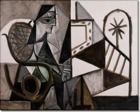Женщина в мастерской - Пикассо, Пабло